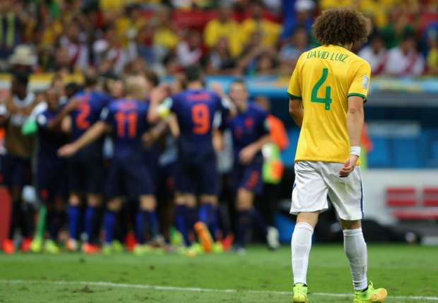 David Luiz - Brazil vs Netherlands - World Cup 120714