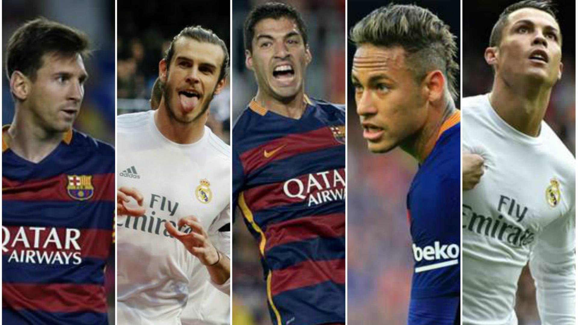 Messi Bale Neymar Suarez Cristiano Ronaldo - Goal.com | 1920 x 1080 jpeg 953kB