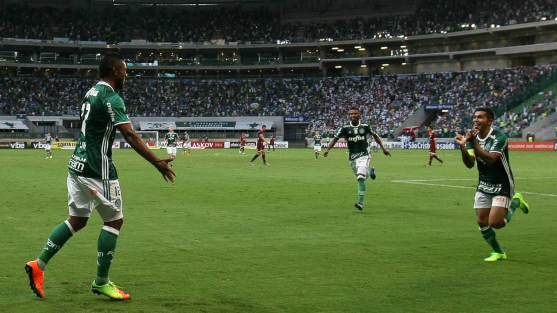 Borja e Dudu - Palmeiras x Ferroviária - 26/02/2017