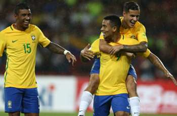 Jesus, Paulinho and Coutinho - Brazil's top scorers under Tite