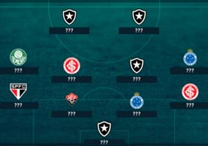 Confira uma lista com os piores jogadores da 16ª rodada do Brasileirão