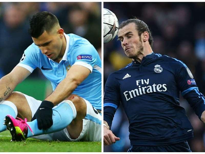 Primeiro jogo entre City e Real Madrid teve atuações péssimas dos atacantes