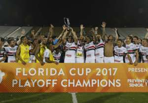 Sidao shines again, Tricolor beats Timao on penalties to lift the Florida Cup in Orlando; check out the best imagery from the derby