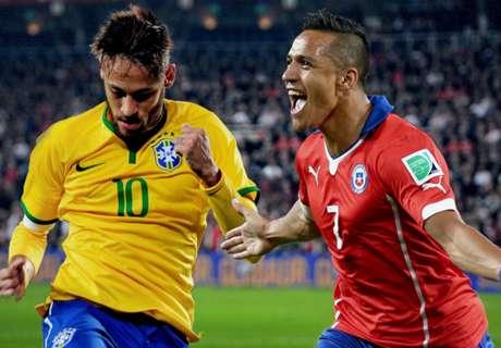 Preview: Brazil - Chile
