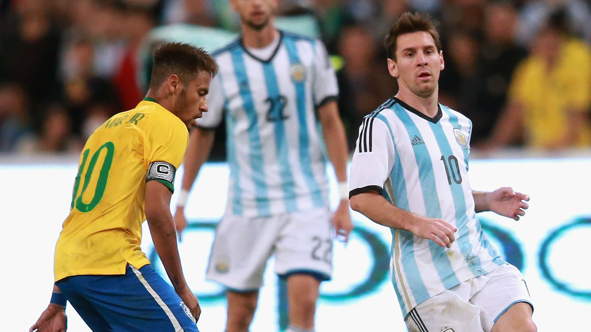 Brasil Vs Argentina: The Stars Missing Brazil-Argentina