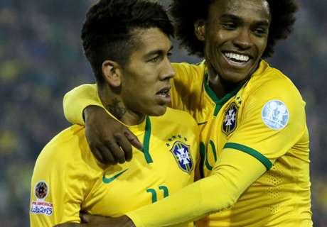 VIDEO: Firmino at the Copa America