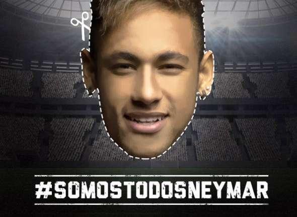 Neymar estará en Belo Horizonte a través de miles de caretas