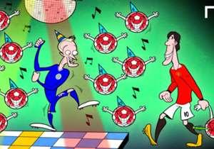 Sensação da Premier League, Vardy marca pelo 11º jogo seguido, bate recorde de Nistelrooy e faz a festa