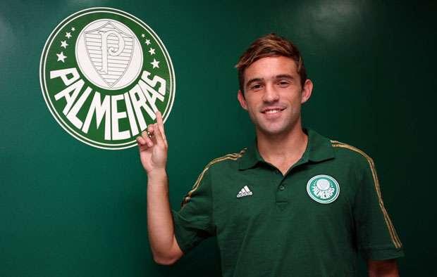 Agustín Allione ya se puso la de Palmeiras