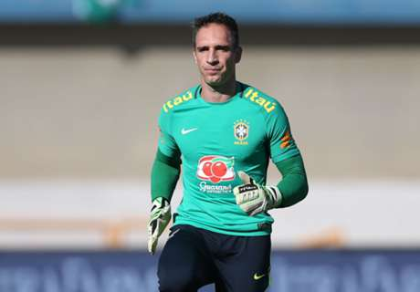 Brazil 'keeper Prass to miss Olympics
