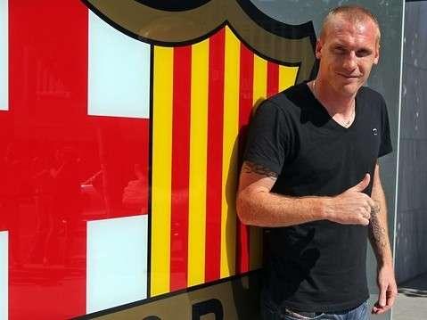 Mathieu, jugador del Barcelona