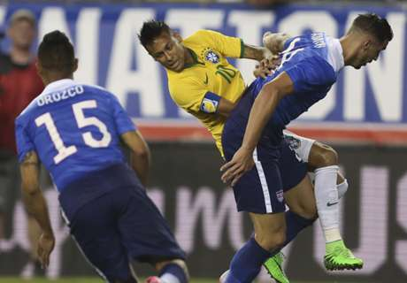 Gallery: Neymar downs the USA