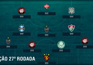 Com a goleada sobre a Ponte Preta em casa, Atlético-PR domina o time ideal de mais um fim de semana no Brasileirão