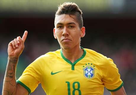 Firmino continues Brazil's winning streak