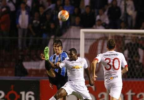 LDU 2 x 3 Grêmio: stats completos
