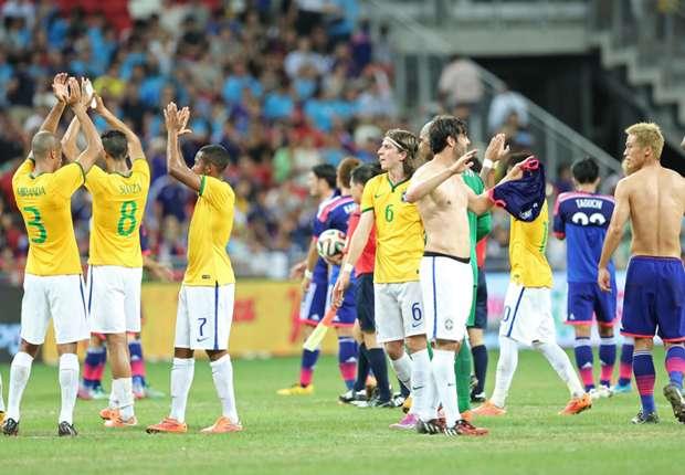 Kaka, Robinho, Neymar and Tardelli... Five talking points from Brazil vs Japan