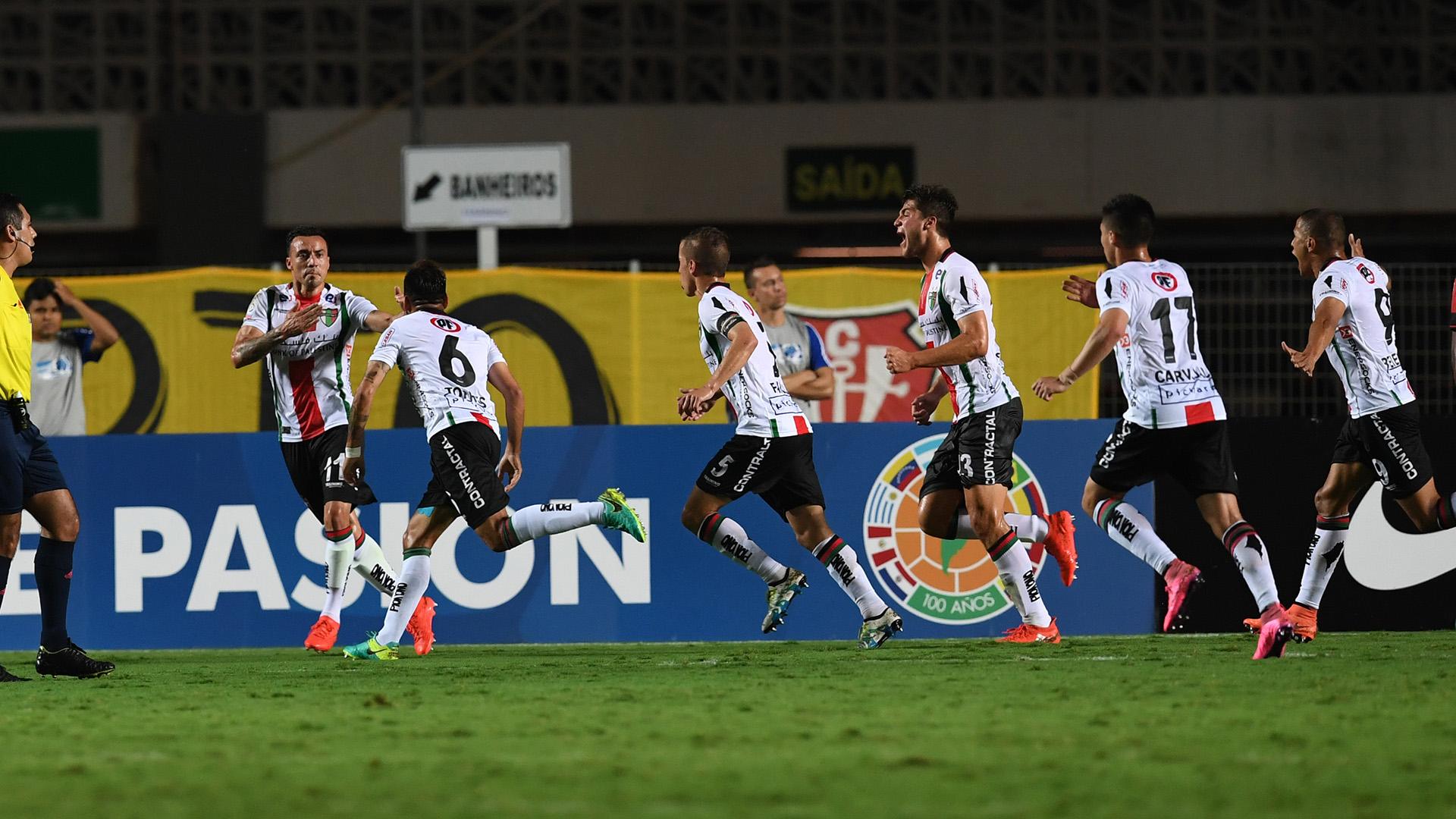 Cereceda Flamengo Palestino Copa Sudamericana 28092016