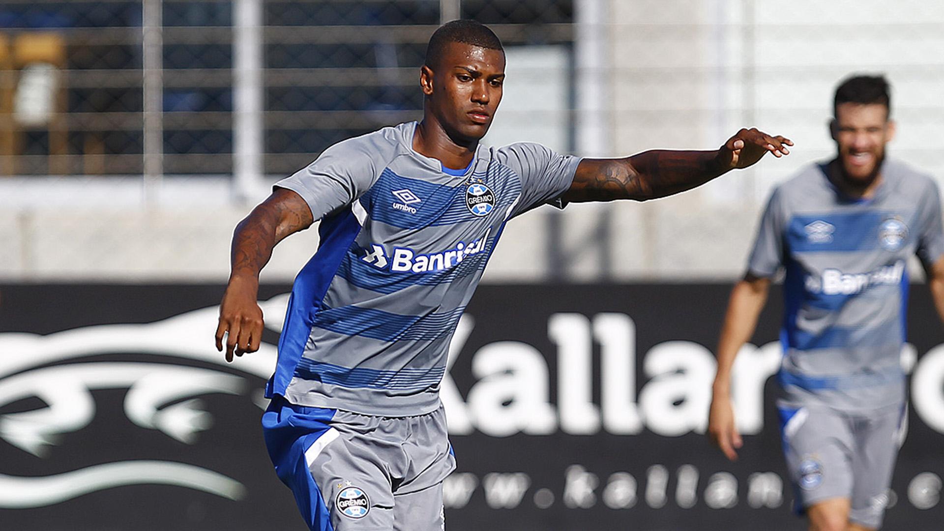 Walace treino Grêmio 18012017