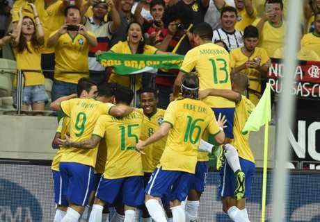 Brasil Tundukkan Venezuela