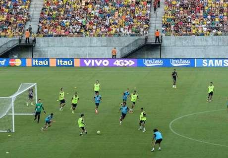 Invasión en una práctica de Brasil