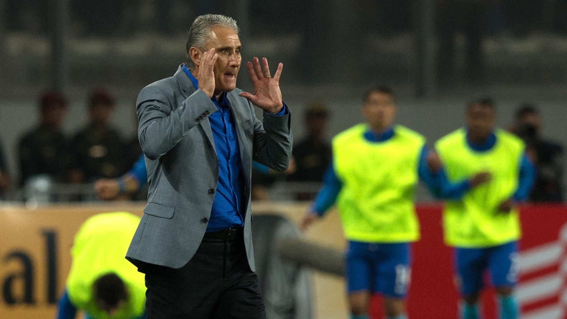 Tite Peru Brasil Eliminatorias 2018 16112016