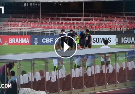 ►Olé! Garoto faz tudo por Neymar