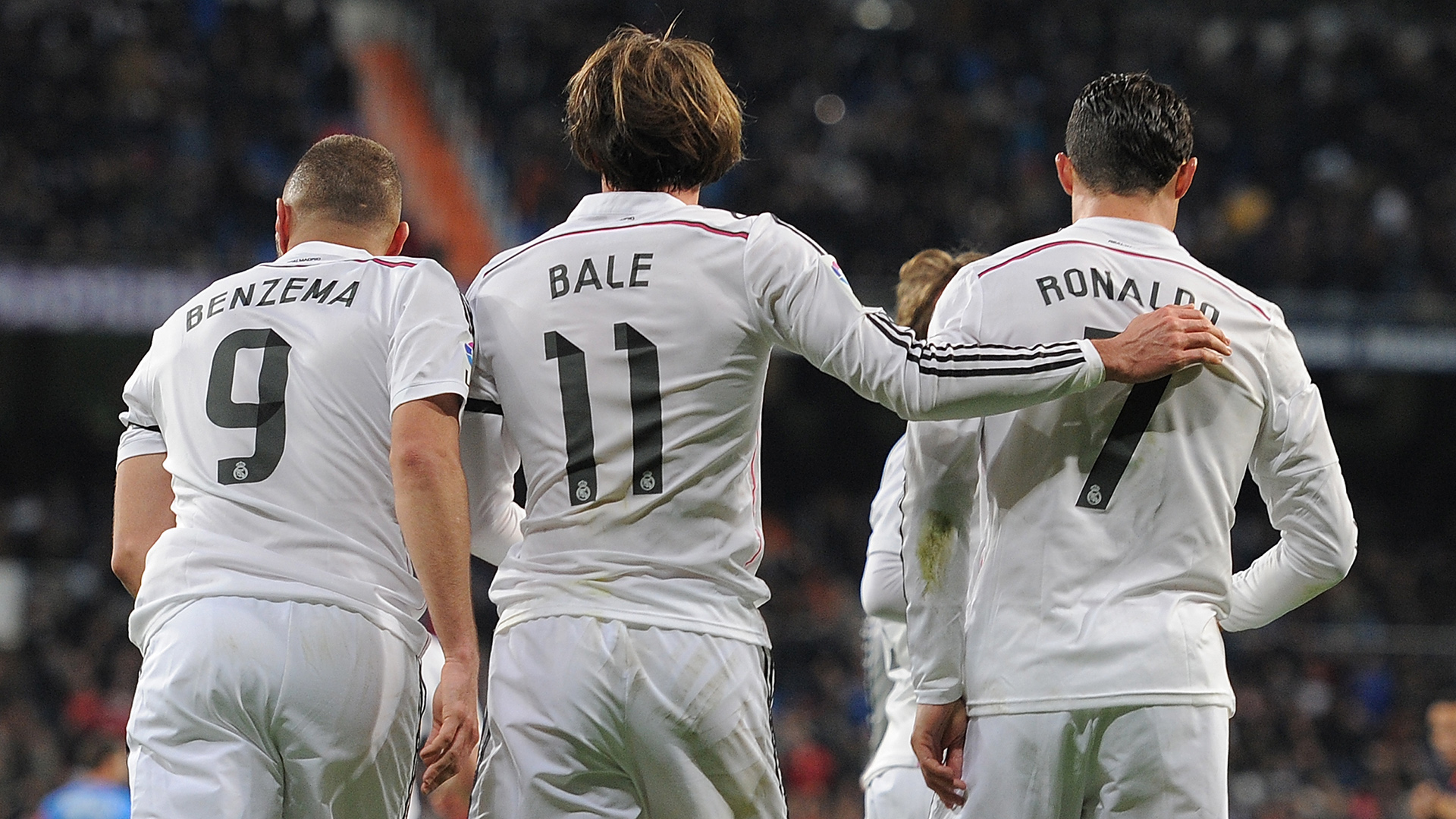 Image result for bbc real madrid