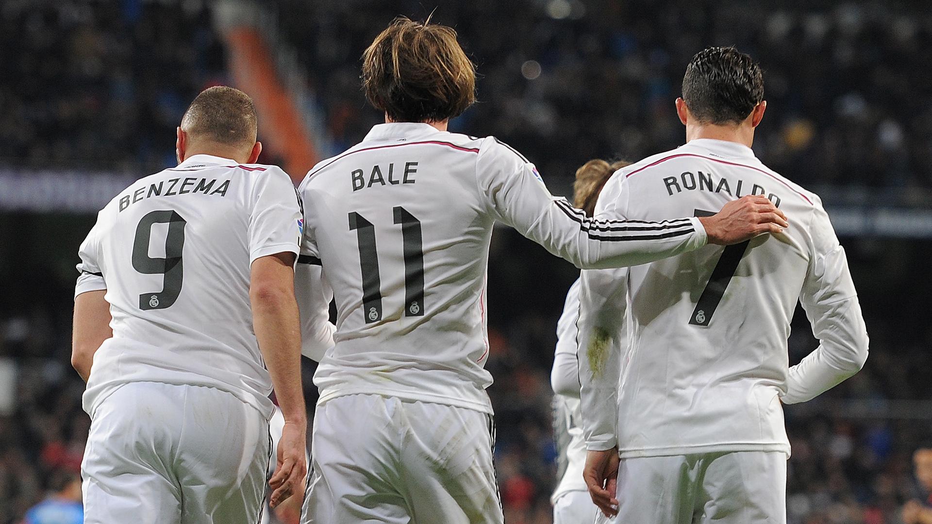 Benzema Bale Cristiano Ronaldo BBC Real Madrid 15032015