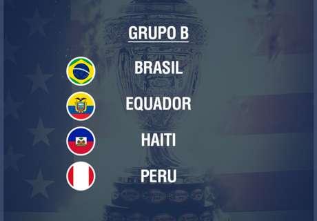 Grupo B: todos van por Brasil
