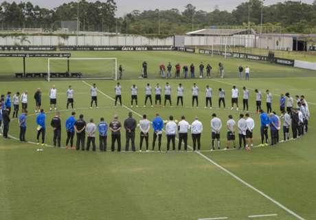 Clubes brasileiros fazem homenagem