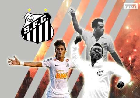 Os 20 maiores ídolos da história do Santos