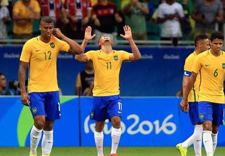 Olimpiadi: Riscatto Brasile, poker e quarti