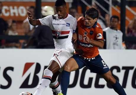 ► Sao Paulo 1-0 César Vallejo
