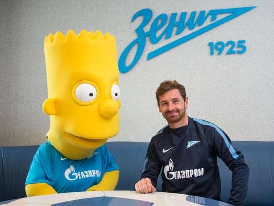 Bart posa junto a su nuevo técnico, André Vilas-Boas.