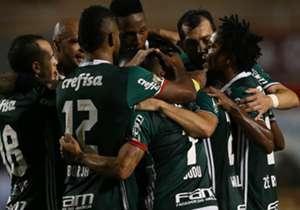 Willian, Borja, Dudu, Róger Guedes.... Muitos jogadores do Palmeiras já mostraram que brigarão pela artilharia nesta temporada. Confira quem é até aqui o maior goleador do Verdão em 2017!