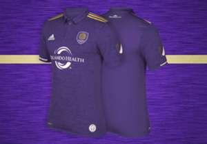O Orlando City, time do brasileiro Kaká, camisa 10, craque e capitão da equipe da MLS, divulgou seu novo uniforme para a temporada 2017. Veja com ficou!