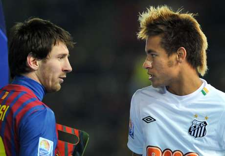 Neymar Gagal Bawa Santos Kalahkan Barcelona di Final Piala Dunia Antarklub