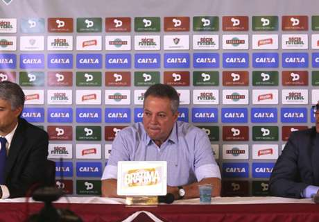 Abel Braga é apresentado no Flu