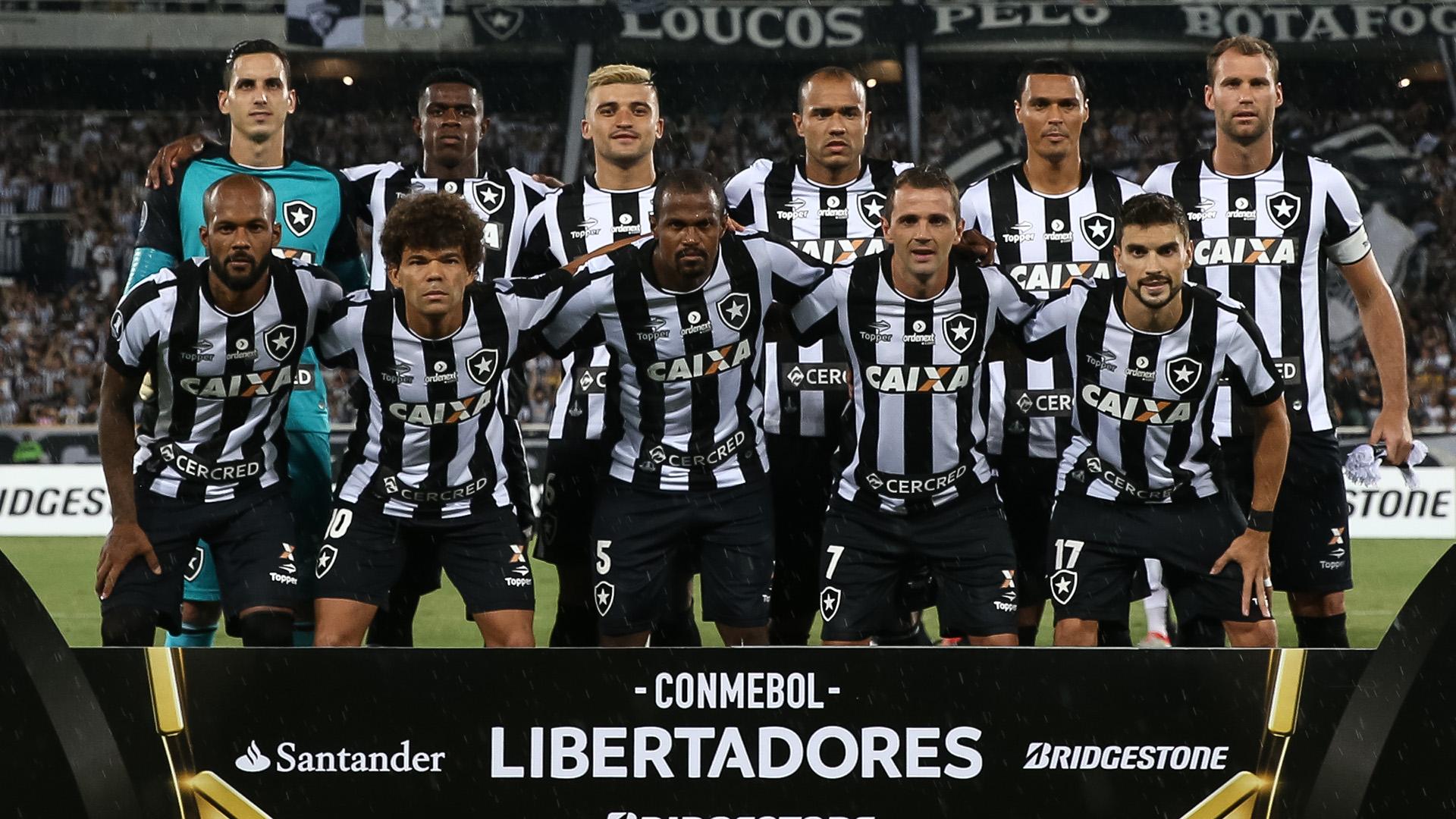 Time Botafogo Estudiantes Copa Libertadores 14032017