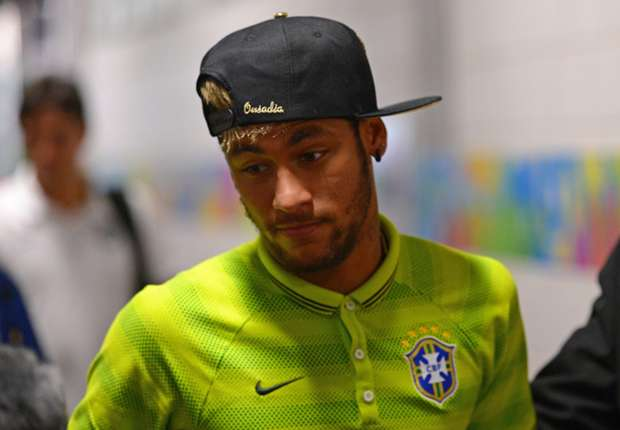 Neymar pre match Brazil Netherlands 2014 World Cup Third-place playoff 07122014
