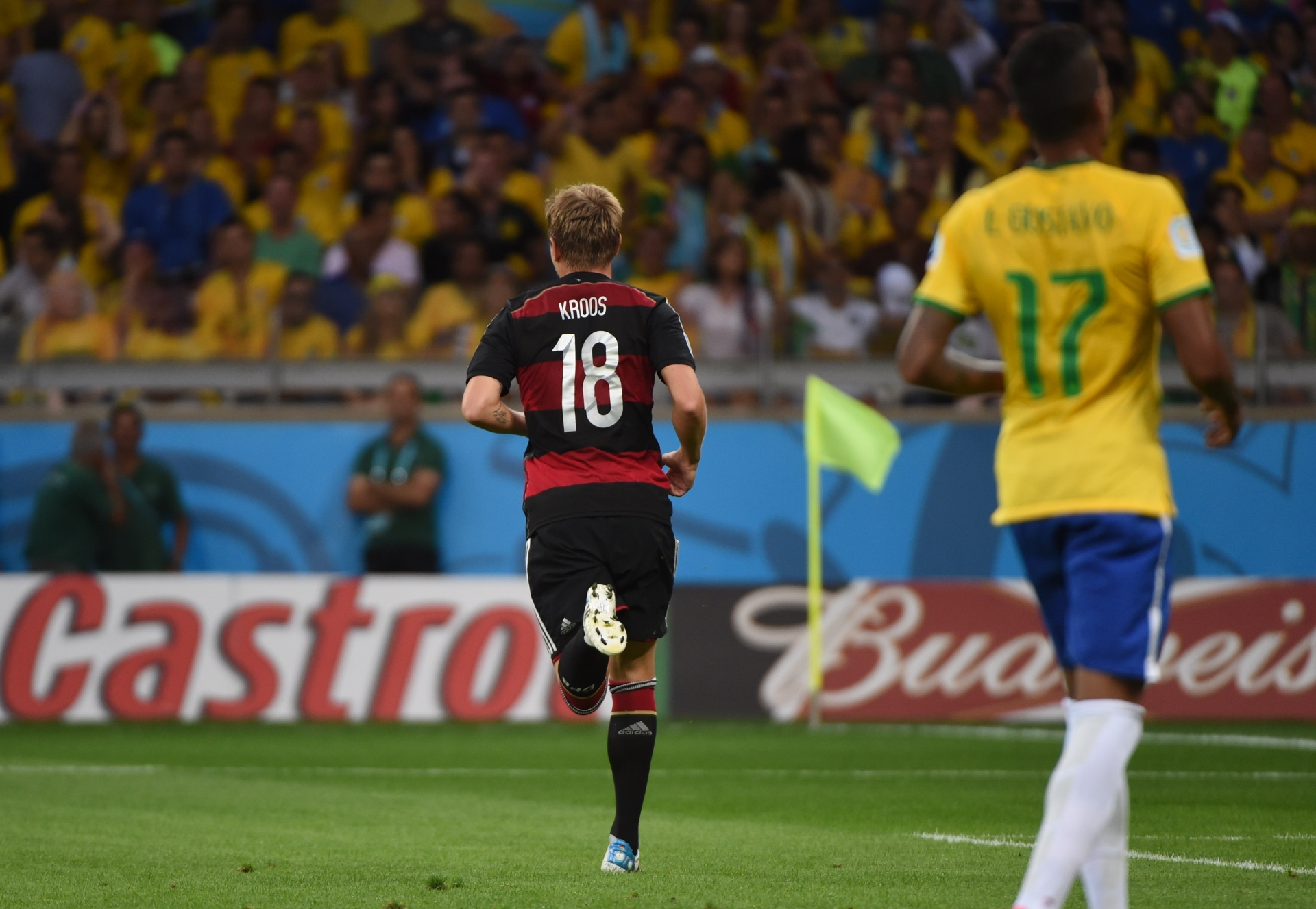GALLERY ONLY Brazil x Germany World Cup 2014 Kroos