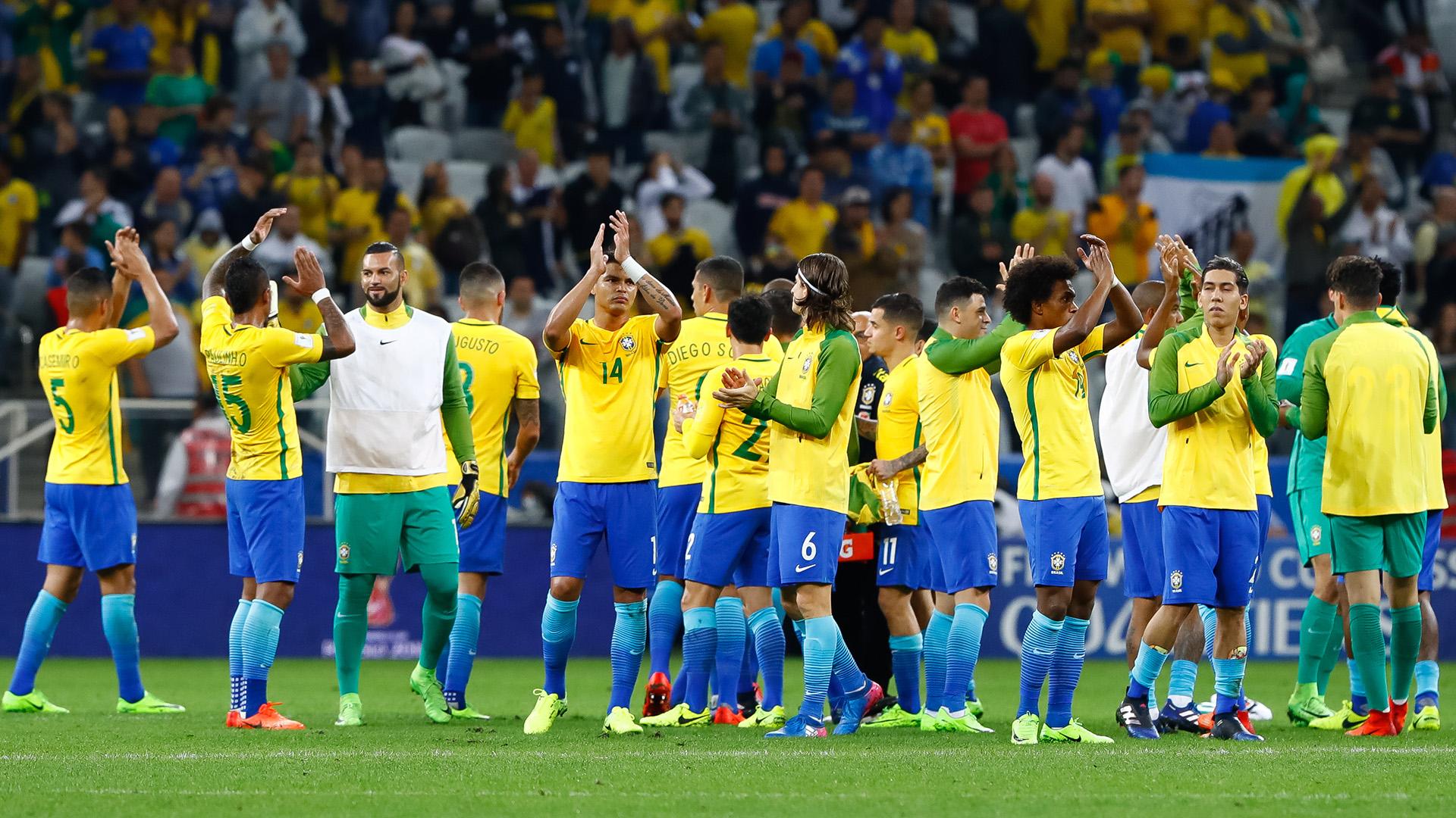 Brasil Paraguai Eliminatorias 2018 28032017