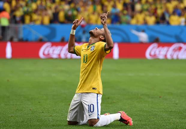 Cameroon 1-4 Brazil: Neymar double sets up Chile clash