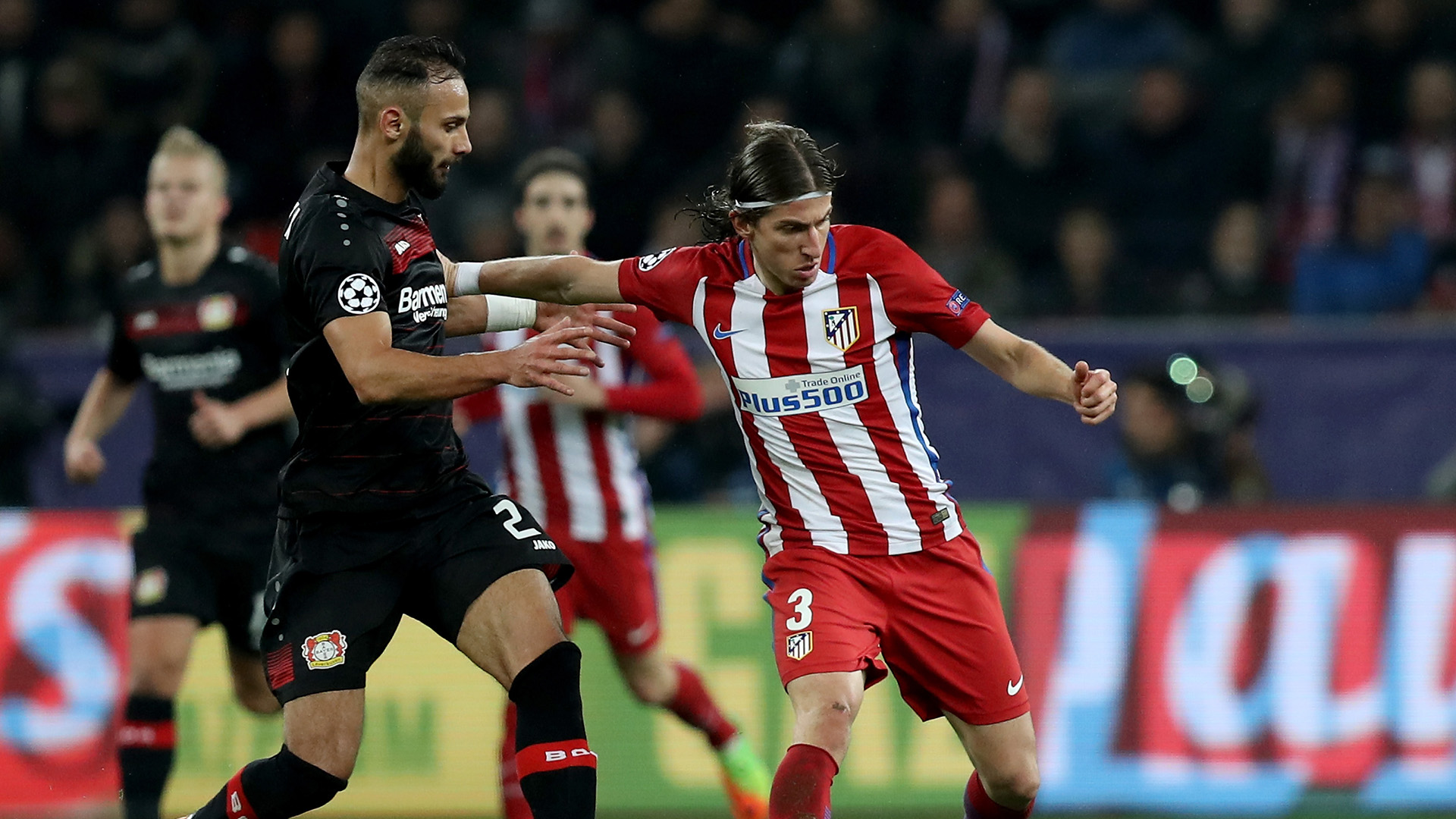 Toprak Filipe Luis Leverkusen Atletico Madrid Champions League R16 21022017