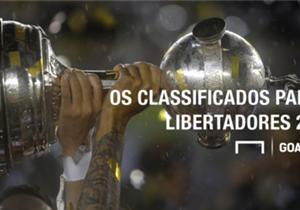 Com o titulo conquistado nessa quarta-feira sobre o Independiente del Valle, o Atlético Nacional já garantiu sua participação na próxima edição da Copa Libertadores da América. Confira quem mais já está lá!