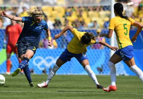 Rio 2016: Brasil 0 (3) x 0 (4) Suécia