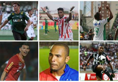 Os artilheiros do Brasil na temporada