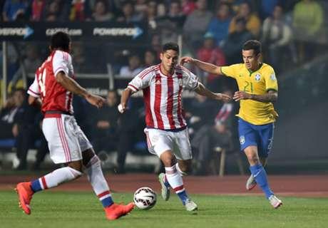 FT. Brazil (3)1-1(4) Paraguay