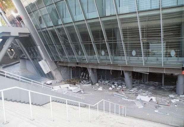 Ledakan Bom Rusak Markas Shakhtar Donetsk