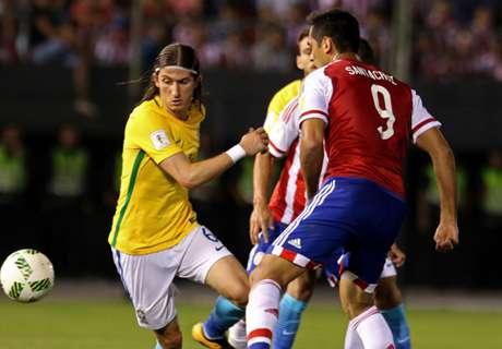 IN STATS: Paraguay 2-2 Brazil